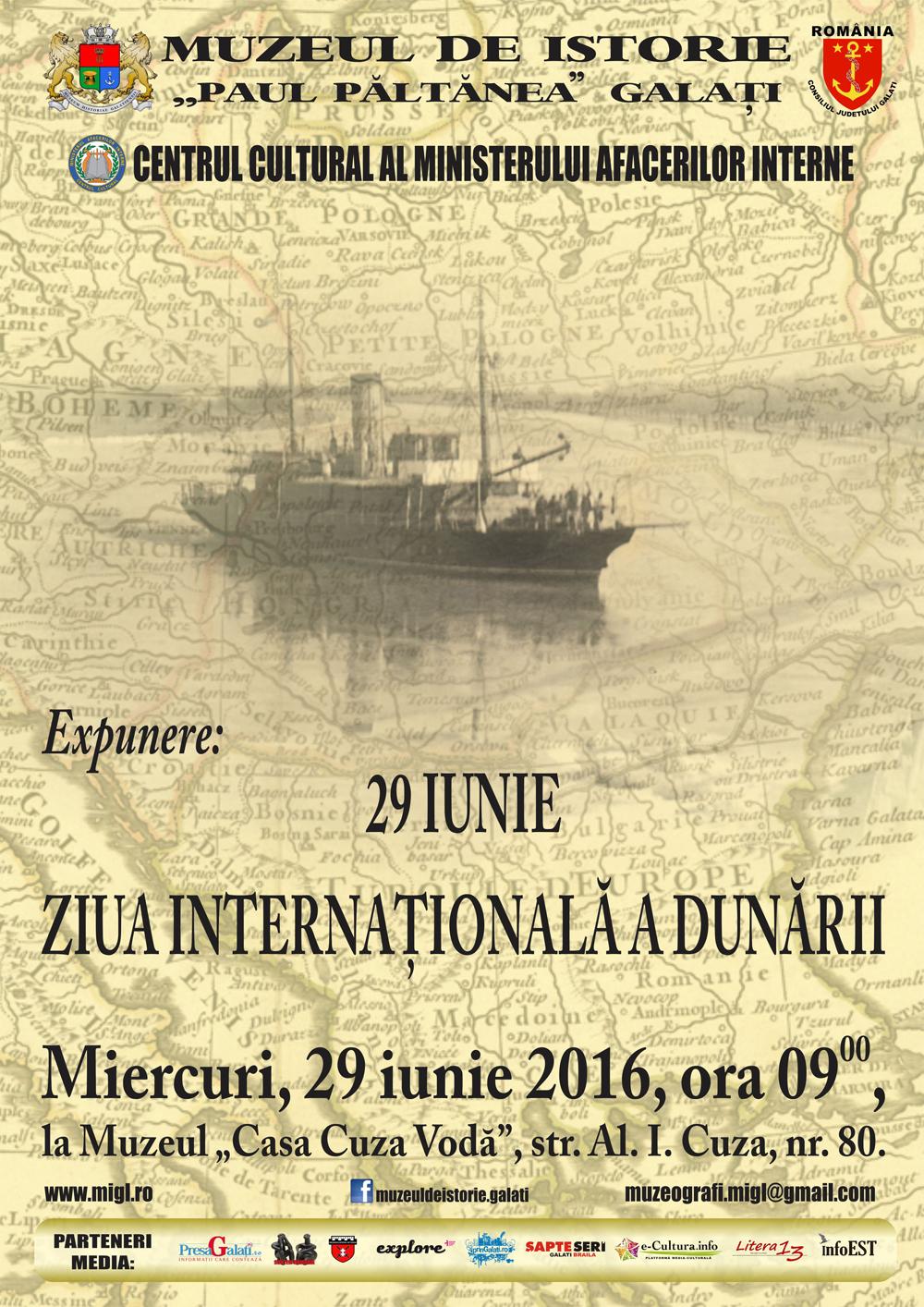 29 iunie - Ziua internationala a Dunarii  |29 Iunie